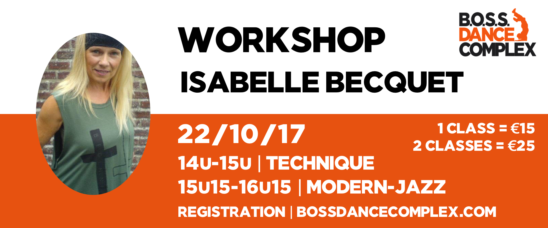 Workshop Isabelle Becquet