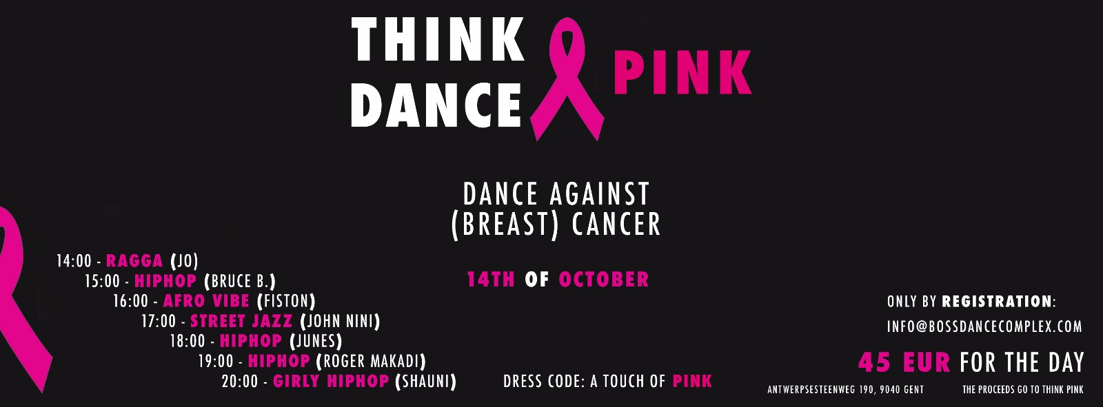 Think Pink, Dance Pink