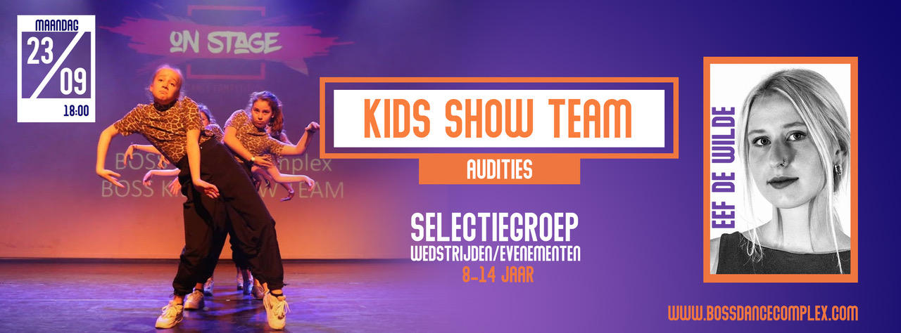Kids Show Team Audition
